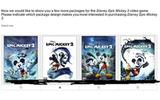 『エピックミッキー』の続編、ディズニーが計画・・・仮称なども明らかにの画像