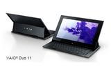 Windows8搭載のスライダーハイブリッドPC「VAIO Duo 11」
