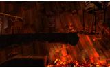 灼熱の溶岩もなんのその。地下世界の果てへ旅は続く・・・の画像