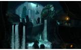 地表を離れて洞窟の奥深くへと降りていくの画像