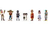 7人のキャラクターたちの画像