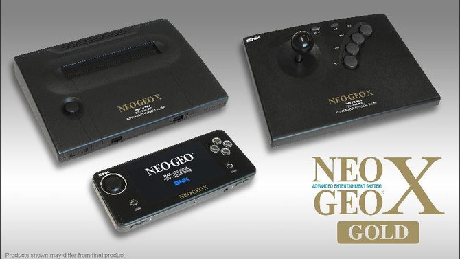 NEOGEO X GOLD ENTERTAINMENT SYSTEM