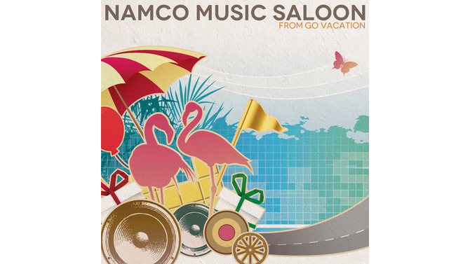 「NAMCO MUSIC SALOON ~FROM GO VACATION」ジャケット