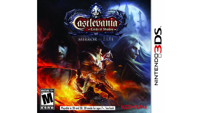 『Castlevania Lords of Shadow Mirror of Fate』パッケージ