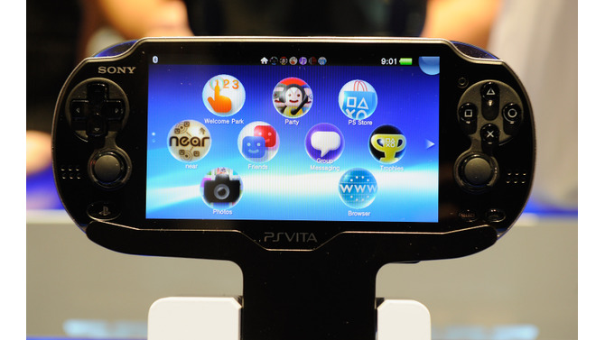 PlayStation Vita 写真提供:Getty Images