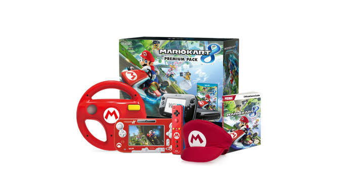「Mario Kart 8 Red Mario Bundle」