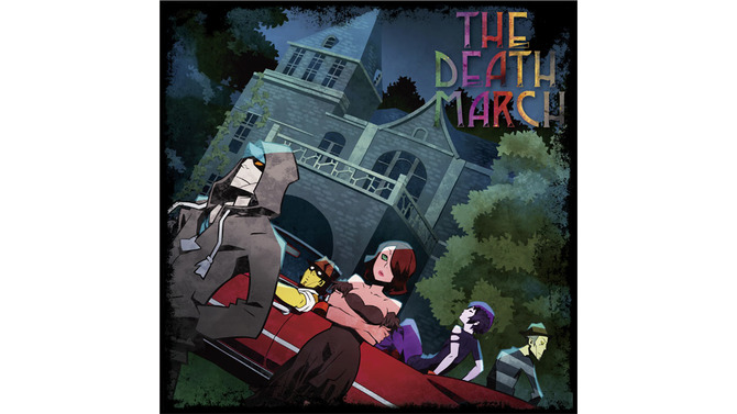 「THE DEATH MARCH」アルバムジャケット