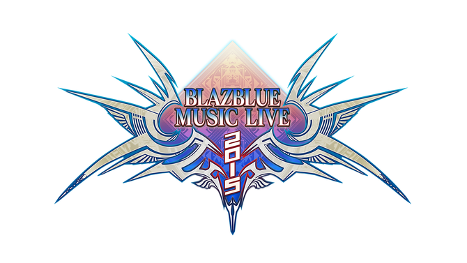 「BLAZBLUE MUSIC LIVE 2015」ロゴ