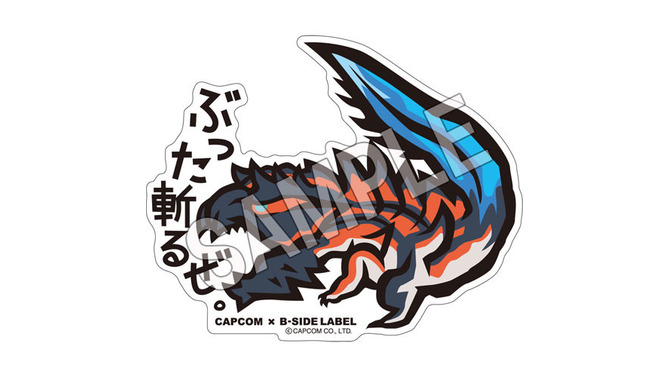 CAPCOM×B-SIDE LABEL ステッカー