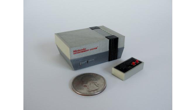 超極小の「歴史的ゲーム機」3Dプリントフィギュアがキュート過ぎる…NESにN64、Apple IIまで