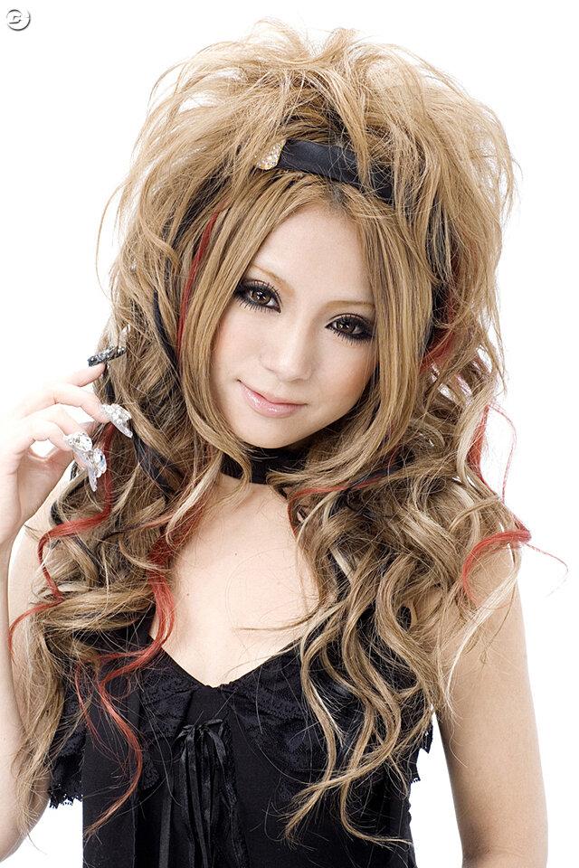 最新のヘアスタイル 髪型 キャバ嬢 : Japanese Ageha Gyaru Models