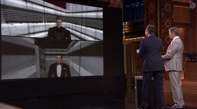 【動画】64の「ゴールデンアイ 007」を本物のジェームズ・ボンドがプレイ
