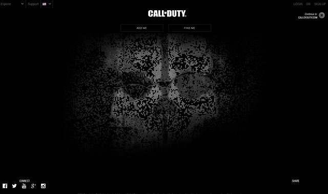 『Call of Duty: Ghosts』が遂に始動、公式Facebookページが開設