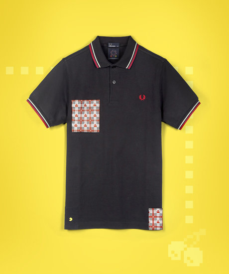 Pac-man Pocket Fred Perry Shirt