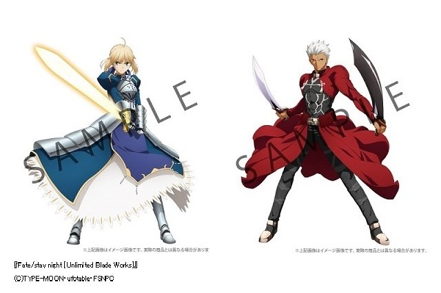 「Fate/stay night[UBW]」キャラパネル全25種一斉発売 圧倒的な等身大のリアル感