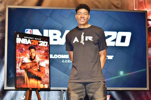 『NBA 2K20』八村塁選手が日本オフィシャルアンバサダーに就任!「ゲームに出られるのは、ドラフトされた時と同じくらい嬉しい」 | インサイド