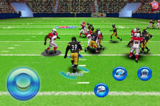 iPhone/iPod touchで楽しめる本格アメフトゲーム!NFL公認『NFL 2010』 画像