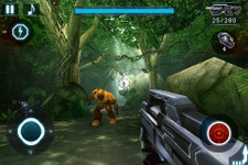 iPhone/iPod touch向け本格派FPS『N.O.V.A.-Near Orbit Vanguard Alliance』 画像