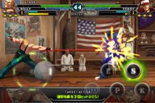 iPhoneでKOF!『THE KING OF FIGHTERS-i』配信開始 画像