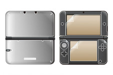 3DS LL用「内側用」「外側用」保護シート、液晶用シートも付属「コンプリートセット」発売 画像