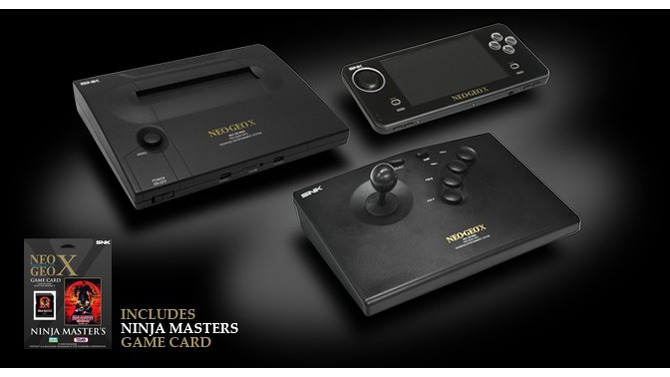 「NEOGEO X GOLD ENTERTAINMENT SYSTEM」