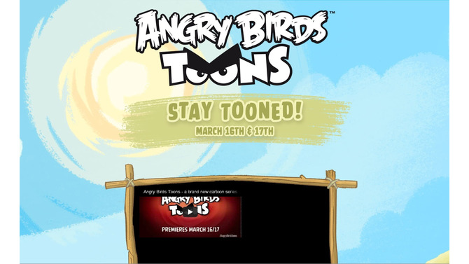 『Angry Birds』のショートアニメシリーズ「Angry Birds Toons」3月16日より公開