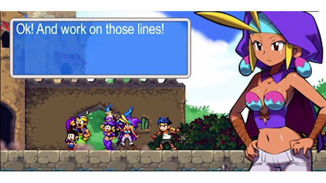 『Shantae and the Pirate's Curse』Wii U対応が発表、ピクセルベースのまま高解像度化