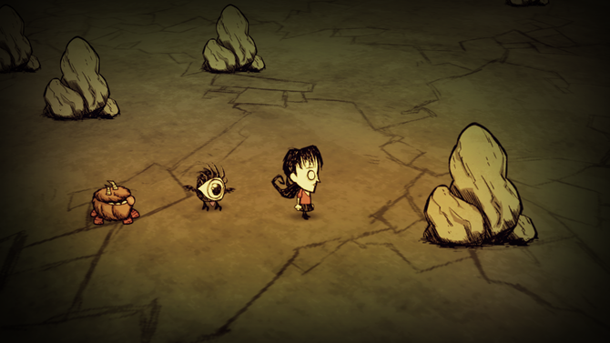 Don't Starve ※画像は他機種のもの
