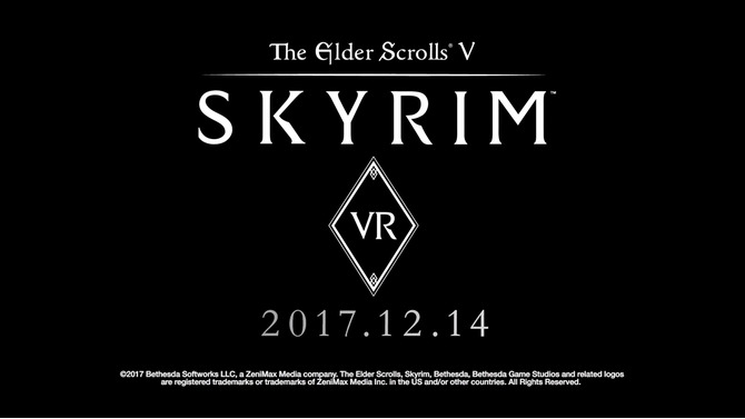 今週発売の新作ゲーム『The Elder Scrolls V: Skyrim VR』『PLAYERUNKNOWN'S BATTLEGROUNDS』『Fallout 4 VR』『Okami HD』他