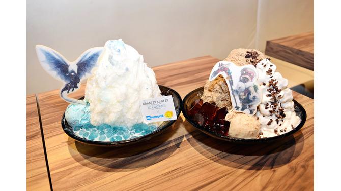『モンスターハンターワールド:アイスボーン』×「ICE MONSTER」コラボメニューをレポート!話題沸騰中のタピオカを使用したメニューが登場