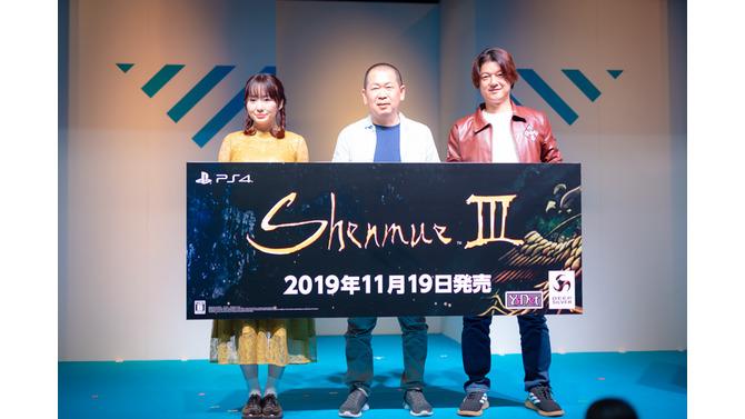 『シェンムーIII』生みの親・鈴木裕、「こんなに呑気なゲームもない」と核心を述べる【TGS 2019】