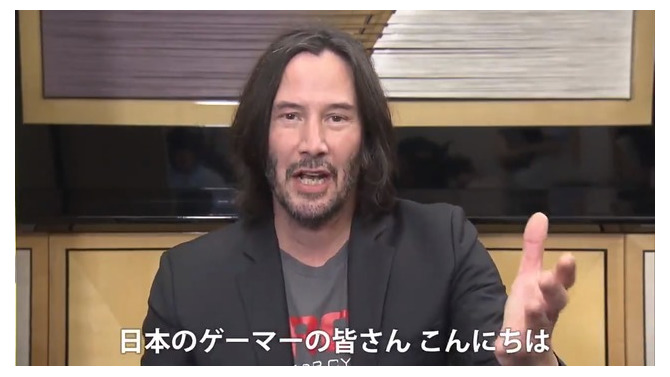 『サイバーパンク2077』ジョニー・シルヴァーハンド役のキアヌ・リーブスから日本のファンへ向けたメッセージ映像!【TGS2019】