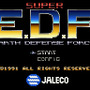 SUPER E.D.F. EARTH DEFENSE FORCE
