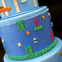25th Anniversary Super Mario Brothers Cake