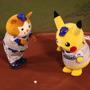 『ポケマス』配信記念始球式に行ってきた―ピカチュウと筒香選手の意外な共通点とは…?