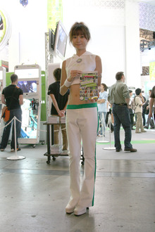 【TGS2007】コンパニオンフォト:マイクロソフト・SCE・集合写真編&着ぐるみ編