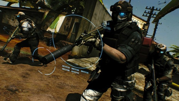 「Ghost Recon Future Soldier」は近未来の戦場が舞台