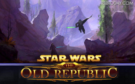 Star Wars: The Old Republicのプレイ画面