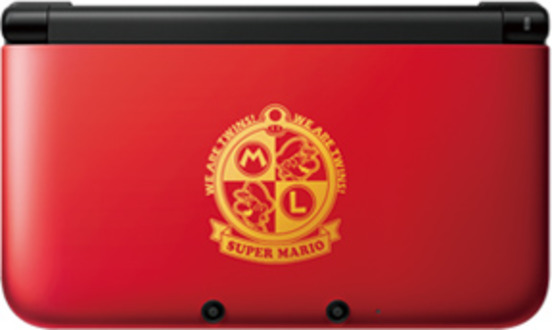 iQue 3DS XL マリオレッドゴールド