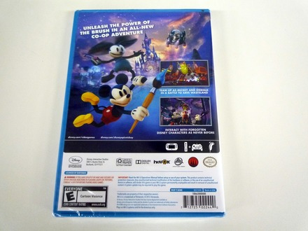 『Epic Mickey 2: The Power of Two』パッケージ(裏)