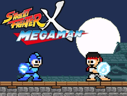 『STREET FIGHTER X MEGA MAN』メインビジュアル