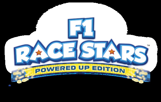 『F1 RACE STARS POWERED UP EDITION』ロゴ