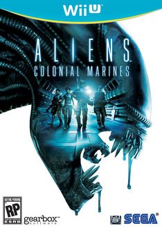 Wii U版『Aliens: Colonial Marines』パッケージ