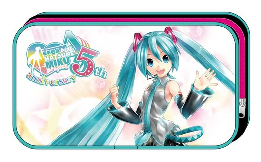 SEGA feat. HATSUNE MIKU Project 5周年記念ポーチ