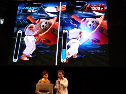 【TGS2008】『タツノコvs.CAPCOM CROSS GENERATION OF HEROES』ステージイベント