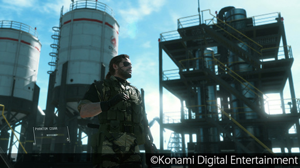 『METAL GEAR SOLID V: THE PHANTOM PAIN』