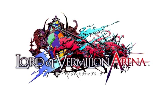 『LORD of VERMILION ARENA』ロゴ