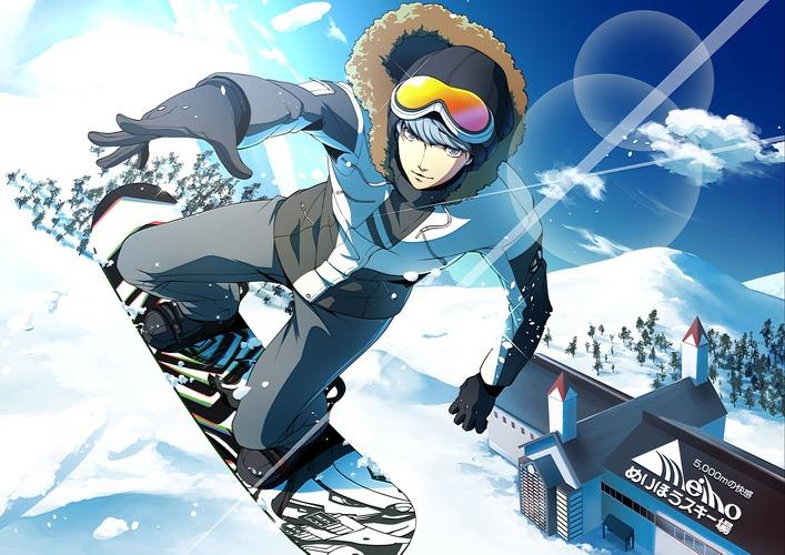 スキー場ペルソナコラボが実現ゲレンデではpサウンドが流れ限定