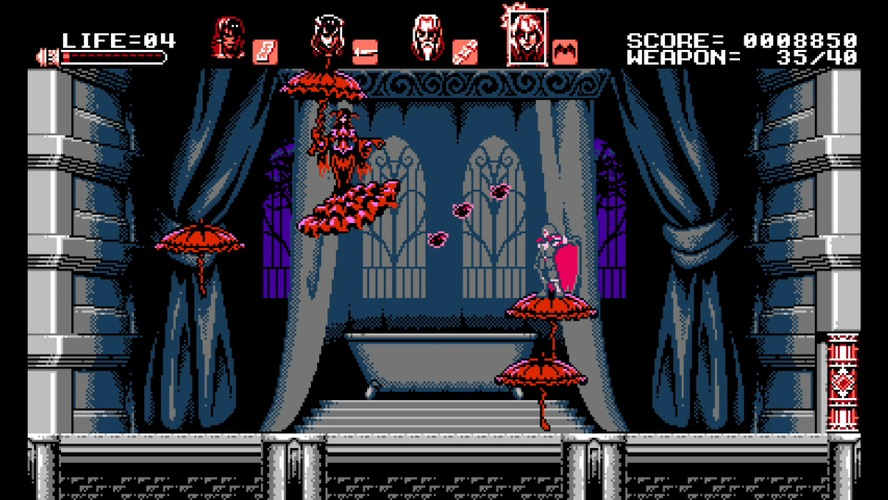 『Bloodstained: Curse of the Moon』5月24日発売決定!五十嵐孝司氏が手がけるレトロスタイルアクション