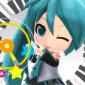 『初音ミク and Future Stars Project mirai』プレイ画面